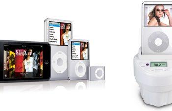 新型iPodの対応状況について