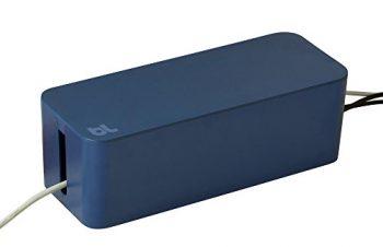 大容量のケーブル収納BOX。お気に入りです! – bluelounge ケーブルボックス ムーンライトブルー 【日本正規代理店品】 BLD-CBRE-MBのレビュー | ジグソー | レビューメディア