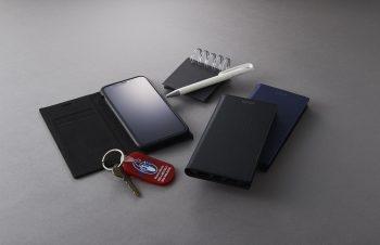 iPhone XS Max [FlipNote Slim] クラリーノ フリップノートケース スマートON/OFF
