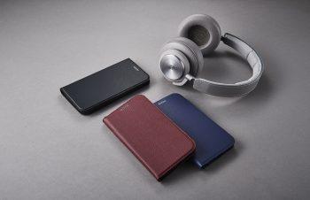 iPhone XS Max [FlipNote Slim] クラリーノ フリップノートケース