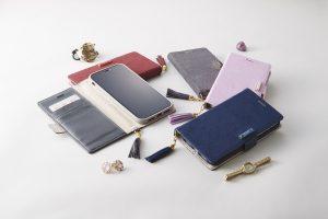 iPhone XR [FlipNote] クラリーノ フリップノートケース