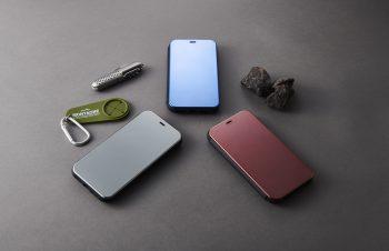 iPhone XR [FlipShell] 衝撃吸収クリアミラーフリップシェルケース