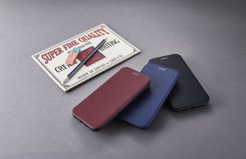 iPhone XS / X [FlipShell] 衝撃吸収クラリーノフリップシェルケース