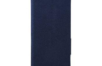 XperiaXZ3 [FlipNote Slim] クラリーノ フリップノートケース – ブルー