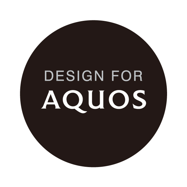 DESIGN FOR AQUOSマーク
