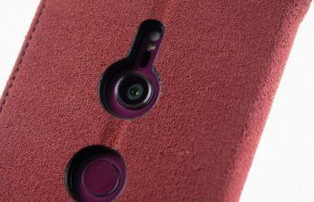 Xperia XZ3を守るためフリップタイプのケースを装着した|Xperia XZ3ロングランレポート