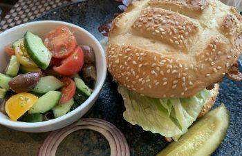 アメリカとハンバーガー
