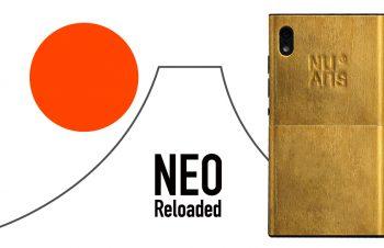 NuAns NEO ネオ ツートーンカバー 純金箔ゴールド(販売終了)