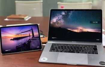 iPad Proと過ごすことに決めて、サブディスプレイとしても活用