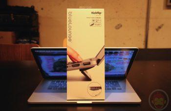 【レビュー】「Bluelounge Kickflip」+「MacBook Pro」= 最強!タイピングがすこぶる快適になるのでみんな買おう!
