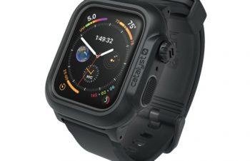 トリニティ、MILスペックの「Catalyst 完全防水ケース」にApple Watch Series 4(44mm)対応モデルを追加