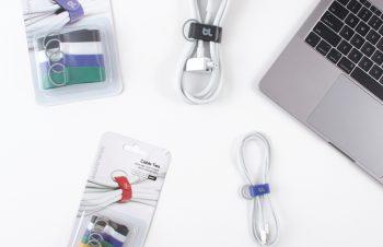 Bluelounge、フックに掛けられるケーブルマネージャー「Cable Ties」発売
