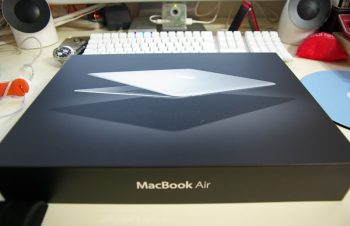 MacBook Air到着