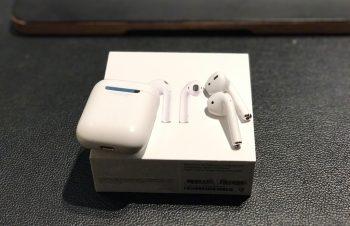 Apple AirPodsを便利に充電できるアイテム、あります。