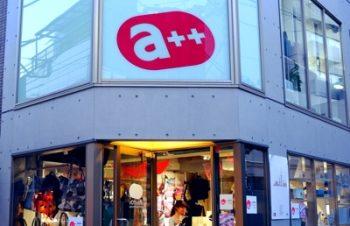 NuAnsシリーズを先行展示しているAssistOn原宿店。