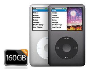 表記が難しい、新iPod classic