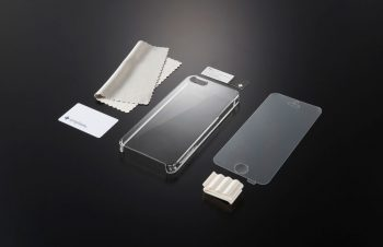 Crystal Cover for iPhone 5の成型不良について