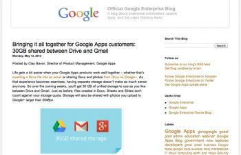 とうとう願いが叶う。Gmailの容量制限が撤廃。