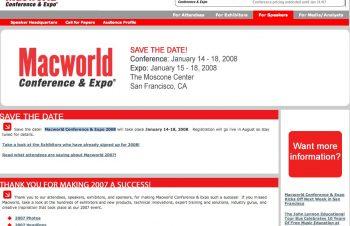 Macworld 2008へ行こう!