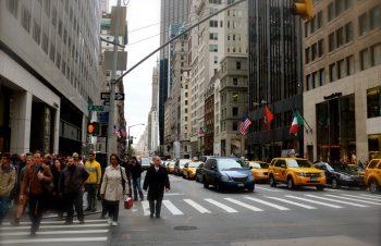ニューヨーク到着、やはりApple Storeはダントツ