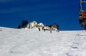 雪山でも音楽を楽しむ