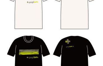 Simplism新作Tシャツ完成