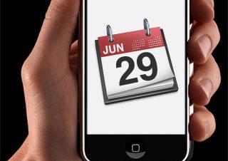 iPhone誕生日決定