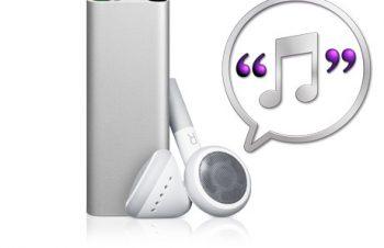 しゃべって伝える、iPod shuffle