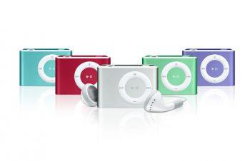 iPod shuffle値下げと容量増量モデル登場