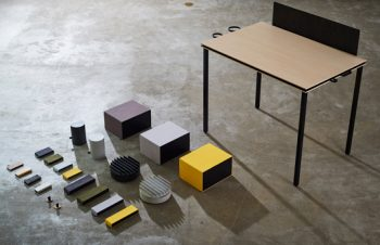 NuAns for WORKLIFE、店頭でも展開開始。イセタンサローネでも期間限定展示開始。