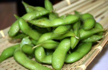 待ってました、枝豆の季節到来