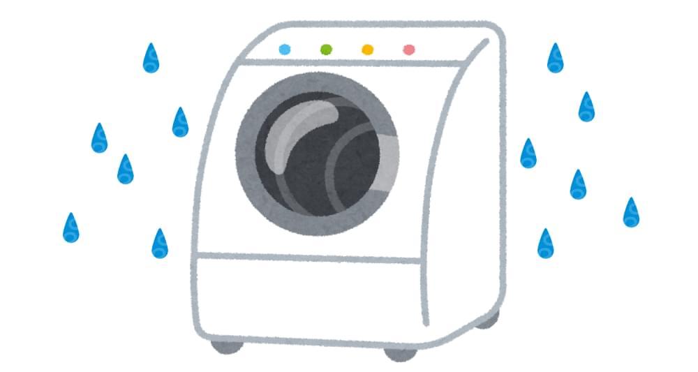 梅雨時期と洗濯機