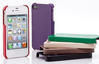 レザー カバーセット for iPhone 4/4S(販売終了)