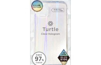 iPhone 11 Pro [Turtle] ハイブリッドケース ホログラム