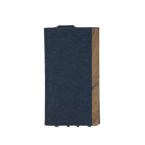 iPhone 11 Pro [FlipNote Light] 極薄軽量 クラリーノフリップノートケース – ブルー