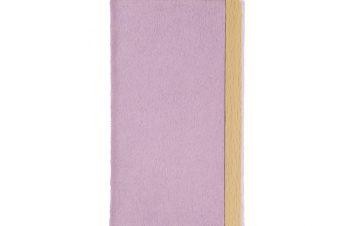 iPhone 11 Pro [FlipNote Light] 極薄軽量 クラリーノフリップノートケース – ピンク
