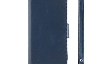 iPhone 11 Pro [FlipNote] カードバンク フリップノートケース – ブルー