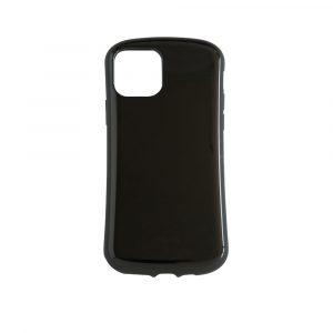 iPhone 11 Pro [CRAYON] 背面キズ修復防指紋 衝撃吸収ハイブリッドケース – ブラック