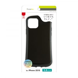 iPhone 11 Pro [CRAYON] 背面キズ修復防指紋 衝撃吸収ハイブリッドケース