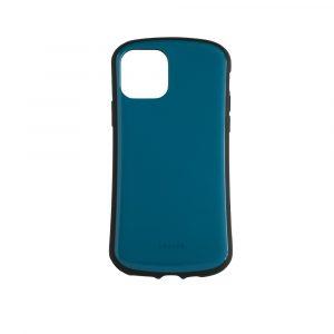 iPhone 11 Pro [CRAYON] 背面キズ修復防指紋 衝撃吸収ハイブリッドケース – ブルー