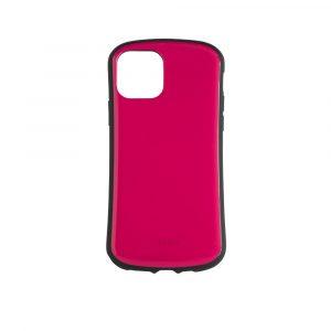 iPhone 11 Pro [CRAYON] 背面キズ修復防指紋 衝撃吸収ハイブリッドケース – ピンク