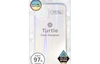 【予約製品】iPhone 11 [Turtle] ハイブリッドケース ホログラム
