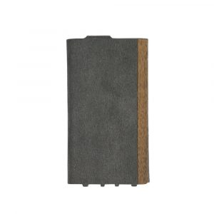 iPhone 11 [FlipNote Light] 極薄軽量 クラリーノフリップノートケース – ブラック