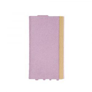 iPhone 11 [FlipNote Light] 極薄軽量 クラリーノフリップノートケース – ピンク