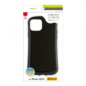 iPhone 11 [CRAYON] 背面キズ修復防指紋 衝撃吸収ハイブリッドケース
