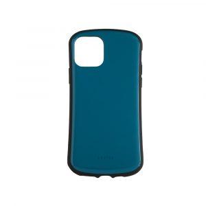 iPhone 11 [CRAYON] 背面キズ修復防指紋 衝撃吸収ハイブリッドケース – ブルー