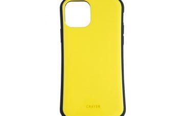 iPhone 11 [CRAYON] 背面キズ修復防指紋 衝撃吸収ハイブリッドケース – イエロー