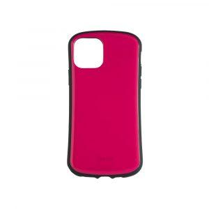 iPhone 11 [CRAYON] 背面キズ修復防指紋 衝撃吸収ハイブリッドケース – ピンク