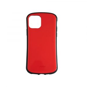 iPhone 11 [CRAYON] 背面キズ修復防指紋 衝撃吸収ハイブリッドケース – レッド