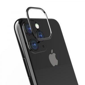 iPhone 11 [Lens Bumper] カメラレンズ保護アルミフレーム – ブラック